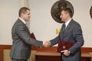 Támogatási szerződés aláírása 2017.01.31